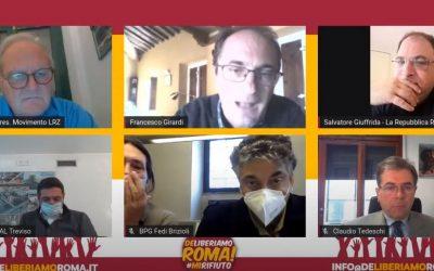 Presentazione del nostro piano industriale per avviare l'economia circolare a Roma!